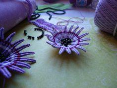 fiore di passiflora realizzato su modello classico margarete