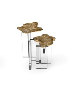 MONET SIDE TABLE BY BOCA DO LOBO | Influenced by the impressionist movement, and paying tribute to one of the era's greatest painters, the Monet side table is a sophisticated furniture piece with a modern design twist. | http://bocadolobo.com/blog/ | #luxuryfurniture