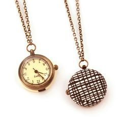 Love this little watch necklace by Vividot.  $40 at vividotstore.com