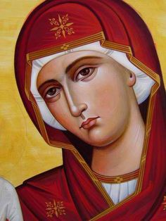 Some amazingly beautiful icons of the Most Holy Theotokos from the Eastern Orthodox tradition Religious Pictures, Religious Icons, Religious Art, Byzantine Icons, Byzantine Art, Blessed Mother Mary, Blessed Virgin Mary, Madonna, Religion Catolica