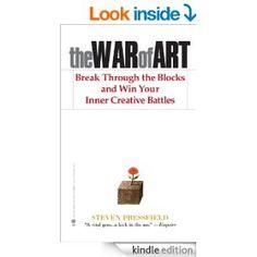 the war of art - book
