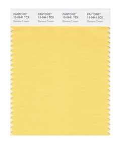 Pantone Smart Swatch 13-0941 Banana Cream