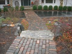 Brick and stonework by Steve Coster and Northwind's Landscaping team.