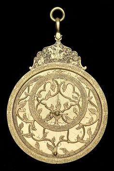 17th century Persia Brass Astrolabes. R. T. Gunther in The Astrolabes of the World (1932) dubbed this 'The Hunter's Astrolabe', because of the hunting scene depicted on the front of the throne. It is quite likely that so specific a decorative theme would reflect the interests of the person the astrolabe was originally made for. Hunting was of course a pastime typically pursued by the most high-ranking and wealthy (in Muslim and Christian society alike).