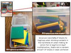 Math Manipulative Storage!!