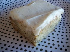 Cooking with Cristine: Banana Cake with Vanilla Bean Frosting