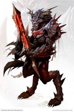 wolf warrior wallpaper | The wolf den: Werewolf - Wolf warrior by el-grimlock