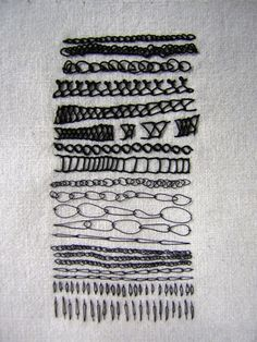 chain stitch - Roanna Wells