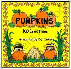Pumpkins Everywhere from KD Creations on TeachersNotebook.com (57 pages)