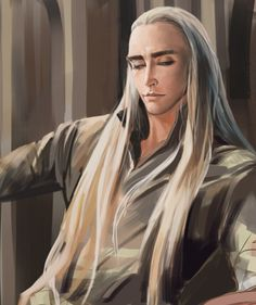 sigun-i-loki:Thranduil by moliko.