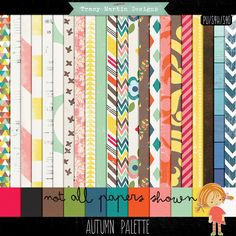 Oscraps :: Shop by Designer :: Tracy Martin Designs :: Autumn Palette