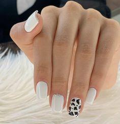 Cute Acrylic Nails, Acrylic Nail Designs, Cute Nails, Western Nails, G Nails, Pretty Nail Art, Short Nail Designs, Nail Trends, Nails On Fleek