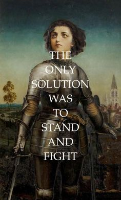 joan of arc by gilbert anthony pownall // only if for a night by florence + the machine (x) Saint Joan Of Arc, St Joan, Girl Power Tattoo, Bride Of Christ, Saint Quotes, Catholic Saints, Queen, Religion, Bible