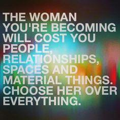 Still choosing her.