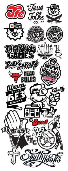 My collection of icons logotypes and characters.