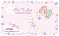 Little Twin Stars Wallpaper 2009 七月桌布 日本 SanrioBB Present A款 – Stargazer Sanrio Wallpaper, Star Wallpaper, Iphone Wallpaper, Twinkle Star, Twinkle Twinkle, Pochacco, Character Wallpaper, Sanrio Hello Kitty, Sanrio Characters