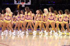 Laker Girls Famous Cheerleaders, Lakers Girls, Professional Cheerleaders, Basketball Teams, Cheerleading, Drill, Bikinis, Swimwear, Bikini