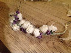 Hobbies, Floral Wreath, Wreaths, Crafts, Home Decor, Wool, Metal, Floral Crown, Manualidades