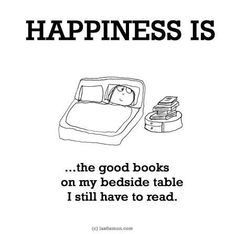 That would be my Kindle backlog too!