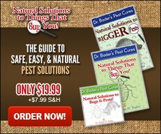 Natural Solutions Guide to Easy Pest Solutions by Dr. Bader - As Seen On TV Top Stuff