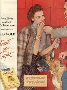 1953 - Old Gold Cigarettes