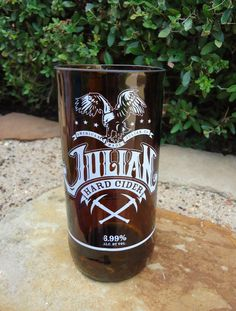 RARE Recycled Beer Bottle Glass from a Julian by ConversationGlass, $18.00