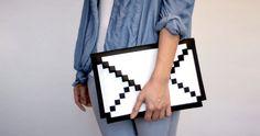 must make // ipad or macbook air pixel cover