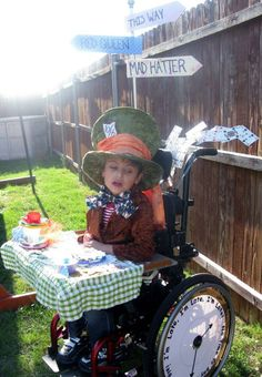 100 Halloween Costumes that will make you LOVE LIFE! | 3E Love's Wheelchair Heart