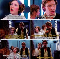 """Star Wars """"will someone get this big walking carpet out of my way!"""""""
