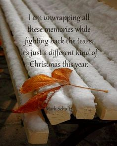 A different kind of Christmas... not a happy time of year without you Robbie.  〰❤〰❤〰❤〰