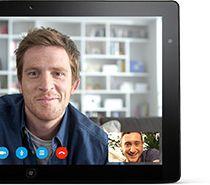 Skype для планшетного компьютера