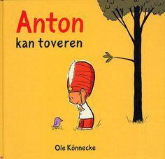 Digitaal prentenboek - Anton kan toveren.