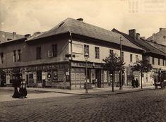Budynek na rogu ul. Garbarskiej i Karmelickiej. Fot. Tadeusz Gutkowski, 1914 r. Archiwum Narodowe w Krakowie, Zbiór fotograficzny, sygn. A IV-648