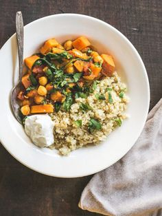 Chickpea & Sweet Potato Stew....I've got about 12 cans of chickpeas to use up so this might put a dent in them