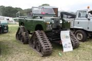 Land Rover Series IIA fitted with Cuthbertson tracks