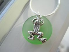 Hey, I found this really awesome Etsy listing at https://www.etsy.com/listing/173558019/frog-necklace-frog-jewelry-sea-glass