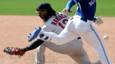 Oops. Hanley Ramirez's first defensive slip-up at first came at the worst time for the Red Sox.