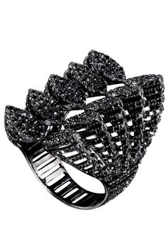 The In/Out List: Dark Crystals. AS29 ring, $8,320