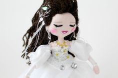 Sarah from Labyrinth movie art doll. The ball by WhisperOfThePipit
