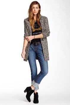 Sofia Straight Leg Jean by Lucky Brand on We Wear, What To Wear, Cool Sunglasses, Fashion Deals, Grey Cardigan, Retro Chic, Work Fashion, Put On, Lucky Brand