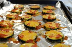 On those nights when you're craving an entire pizza, give into your cravings without the guilt with these healthy mini zucchini pizzas. It's basically healthier bagel bites without the freezer burn. Get the recipe from Spoon University.   - Delish.com