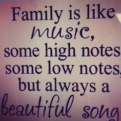 so true #family #love #music