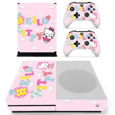 Hello Kitty Xbox one S Skin   Xbox one S decal – Console skins world
