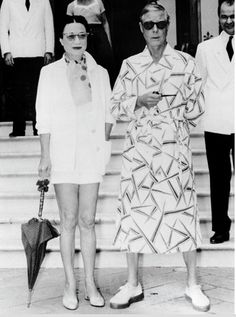 HRH The Duke of Windsor (formerly King Edward VIII) and the Duchess of Windsor
