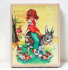 La Mère Lipopette - Brocante et vintage en ligne   Puzzles Luce Andrée Lagarde.