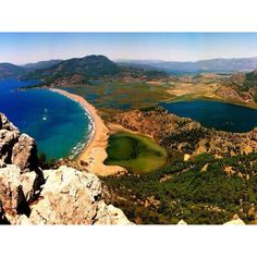 Dalyan and Iztuzu Beach - A protected area for caretta caretta.