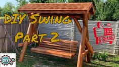DIY Swing From Wooden Logs Part 2 Our channel is the destination for all your DIY, Garden, Lifeacks needs. Here you'll find DIY Lifestyle Hacks, Home Makeove. Diy Swing, Makeover Tips, Diy School Supplies, Desk Organization, Logs, Gardening Tips, Diy Gifts, Easy Diy, Recycling