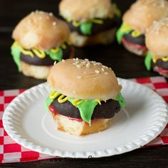 Looking for a cute breakfast idea? Make these mini Donut burgers out of glazed and chocolate covered donut holes. They're great for a themed party, school treat or edible craft! How do you spend Labor Day in your house? It is the last big blowout of summer, after all. I imagine a good handful of people are doing a party, or little family dinner over the fire. That's usually our family, but this Monday we're just going to spend the [Continue Reading]