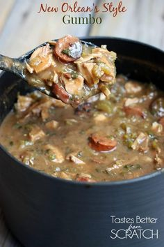Authentic New Orleans Style Gumbo