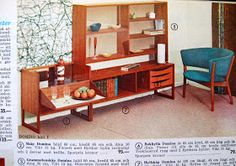 Designkarameller: IKEA 1963 Mid Century Furniture, Ikea, Entryway, Retro, Storage, Feng Shui, Vintage, Home Decor, Entrance